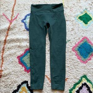 Outdoor Voices 7/8 Flex Leggings, Evergreen, S